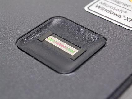 отпечаток пальца ноутбук: