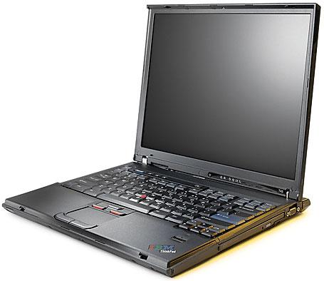 ноутбука IBM Thinkpad T43